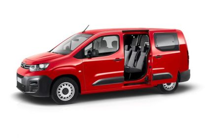 Citroen Berlingo Crew Van XL 850Kg 1.5 BlueHDi FWD 100PS Enterprise Crew Van Manual