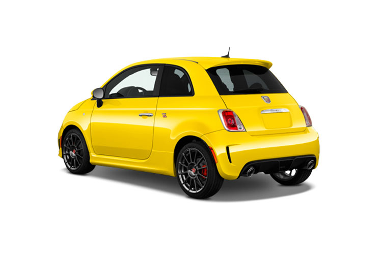 Abarth 595 Hatch 3Dr 1.4 T-Jet 165PS Scorpioneoro 3Dr Manual back view