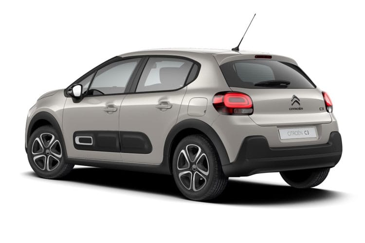 Citroen C3 Hatch 5Dr 1.2 PureTech 83PS Shine 5Dr Manual [Start Stop] back view