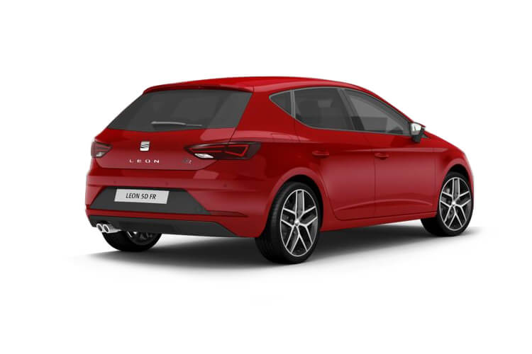 SEAT Leon Hatch 5Dr 1.4 eHybrid PHEV 12.8kWh 204PS XCELLENCE 5Dr DSG [Start Stop] back view