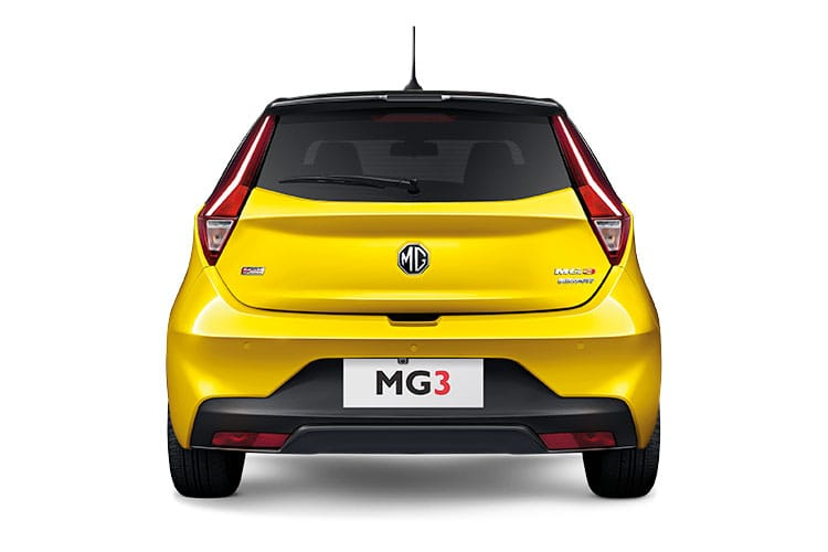 MG Motor UK MG3 Hatch 5Dr 1.5 VTi-TECH 106PS Exclusive Nav 5Dr Manual [Start Stop] back view