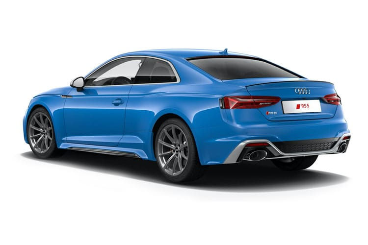 Audi A5 40 Coupe quattro 2Dr 2.0 TDI 204PS S line 2Dr S Tronic [Start Stop] back view