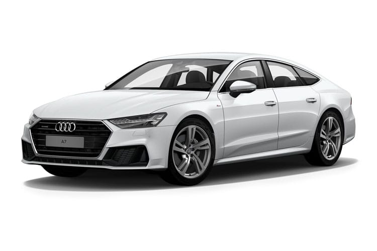 Audi A7 40 Sportback 5Dr 2.0 TDI 204PS Black Edition 5Dr S Tronic [Start Stop] front view