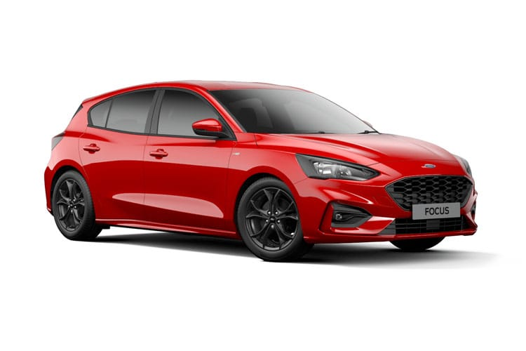 Ford Focus Hatch 5Dr 1.0 T EcoBoost 125PS Zetec Edition 5Dr Manual [Start Stop] front view