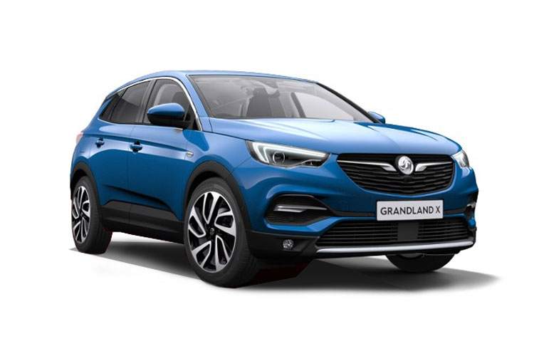 Vauxhall Grandland X SUV 1.5 Turbo D 130PS Business Edition Nav 5Dr Manual [Start Stop] front view