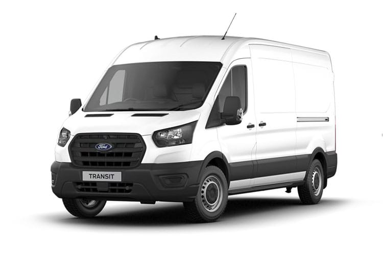 Ford Transit 310 L3 2.0 EcoBlue FWD 130PS Leader Van High Roof Manual [Start Stop] front view