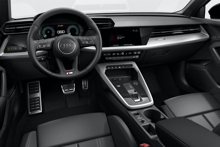 Audi A3 35 Sportback 5Dr 2.0 TDI 150PS S line 5Dr Manual [Start Stop] [Comfort Sound] inside view