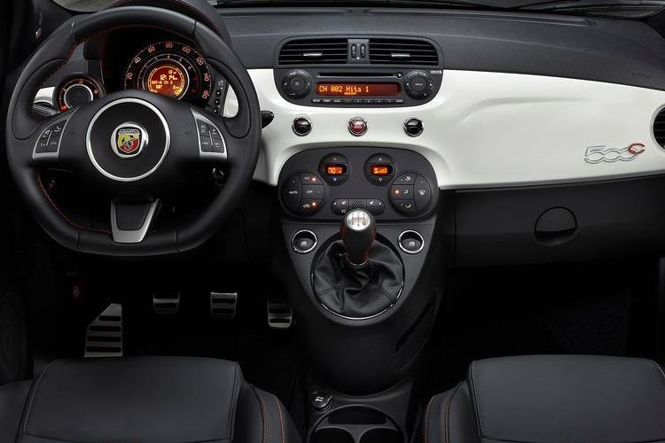 Abarth 595 C Cabrio 1.4 T-Jet 165PS Turismo 2Dr Manual inside view