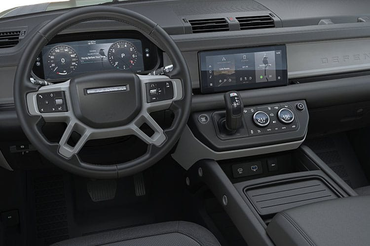 Land Rover Defender 110 SUV 5Dr 2.0 SD4 200PS S 5Dr Auto [Start Stop] [7Seat] inside view