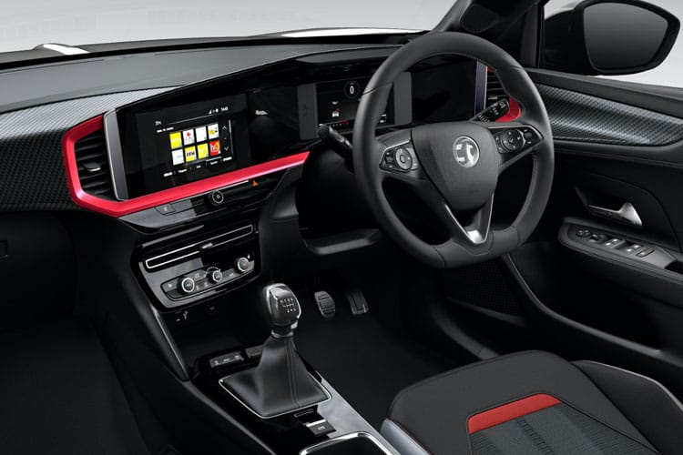 Vauxhall Mokka SUV 2wd 1.5 Turbo D ecoTEC 110PS Launch Edition 5Dr Manual [Start Stop] inside view
