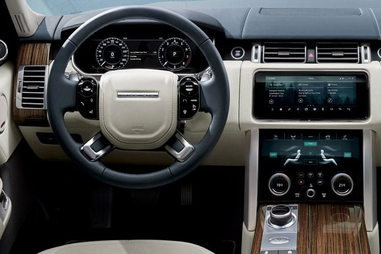 Land Rover Range Rover SUV 2.0 P400e PHEV 13.1kWh 404PS Westminster Black 5Dr Auto [Start Stop] inside view