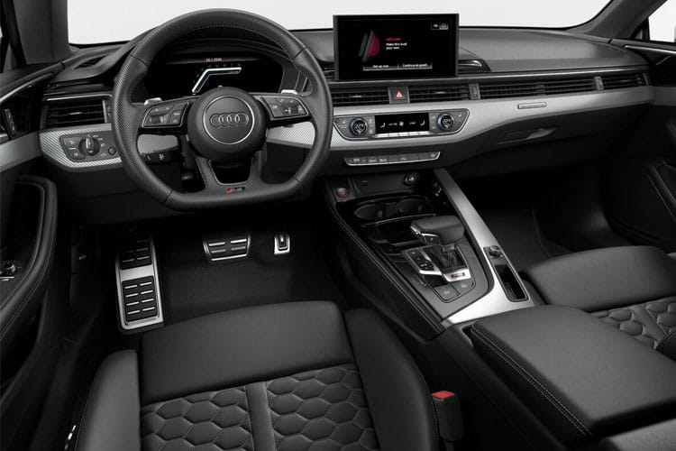 Audi A5 40 Coupe quattro 2Dr 2.0 TDI 204PS S line 2Dr S Tronic [Start Stop] inside view
