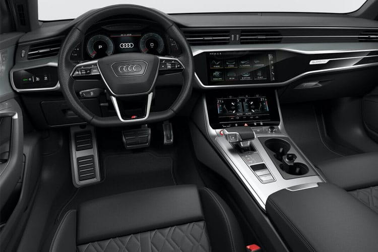 Audi A6 S6 Saloon quattro 3.0 TDI V6 344PS Black Edition 4Dr Tiptronic [Start Stop] [Comfort Sound] inside view