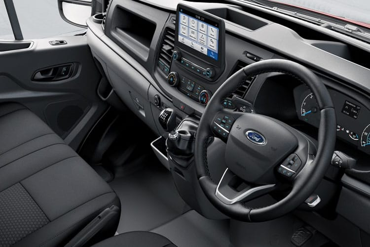 Ford Transit 310 L3 2.0 EcoBlue FWD 130PS Leader Van High Roof Manual [Start Stop] inside view